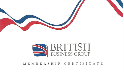 MEMBERSHIP WITH BRITISH BUSINESS GROUP IN DUBAI